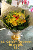 Handtied Flowers in Water Bags: Hassle Free