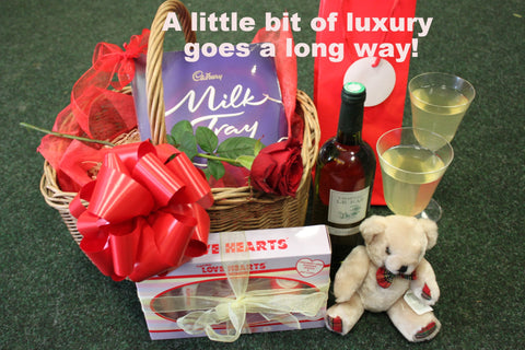 Hamper Baskets: A Little Bit of Everything!