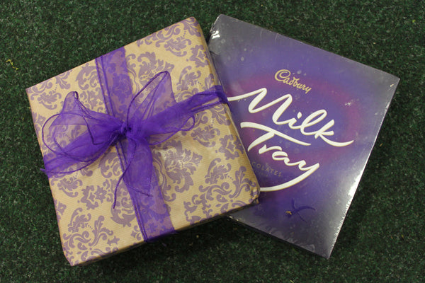 Milk Tray: All because the lady loves...