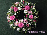 Funeral Arrangements: Circular Wreath