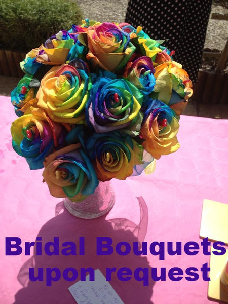 RAINBOW Roses: For Something Different!