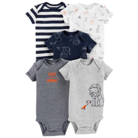126H442 SET 5 BODYS NIÑO CARTERS