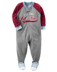 Mono 1 pc all star gris y rojo Carters 327g248