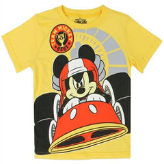 Camiseta Mickey Mouse niño Color Amarilla 5YM6932