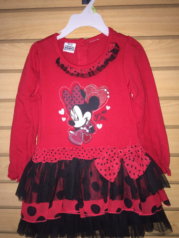 Vestido Minie Rojo DISNEY MINI MOUSE 885686999437 DISNEY