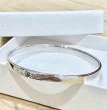 Load image into Gallery viewer, Laihas Simple Sterling Silver Smooth Bangle - Laihas Bohemian Dreaming