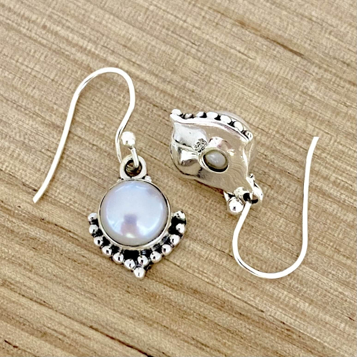 Laihas Gypsy Solitude Pearl Earrings - Laihas Bohemian Dreaming