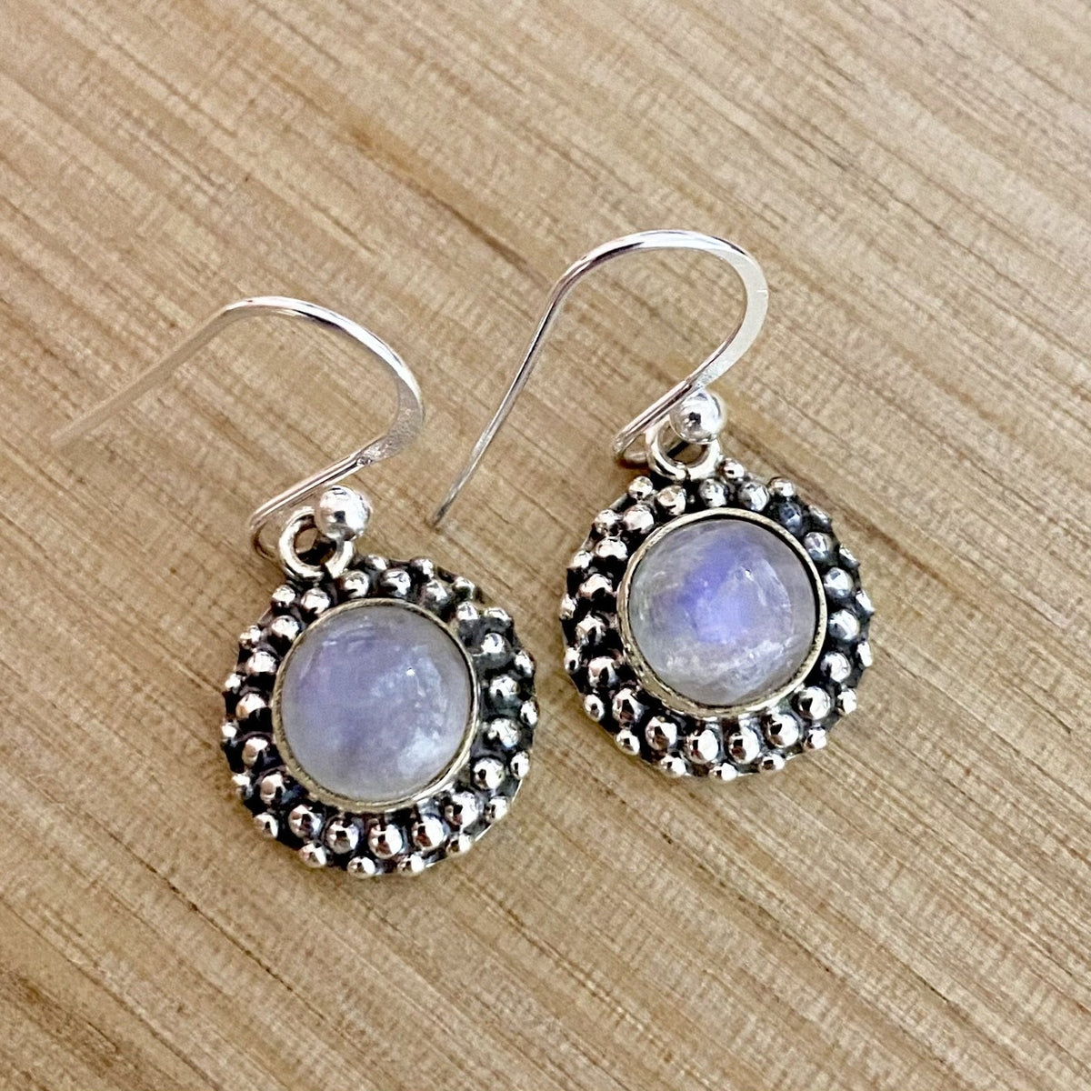 Laihas Spring Time Moonstone Earrings - Laihas Bohemian Dreaming