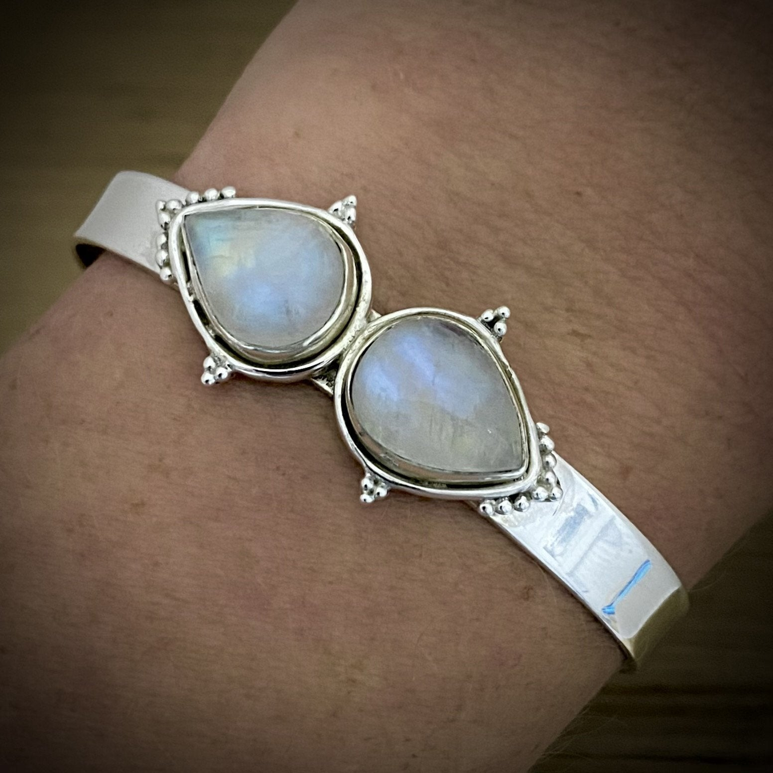 Moonstone Bangle - Laihas Bohemian Dreaming