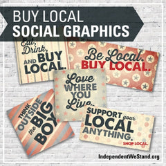 Buy Local Social Media Graphics
