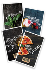 Restaurant Posters II - FREE SHIPPING