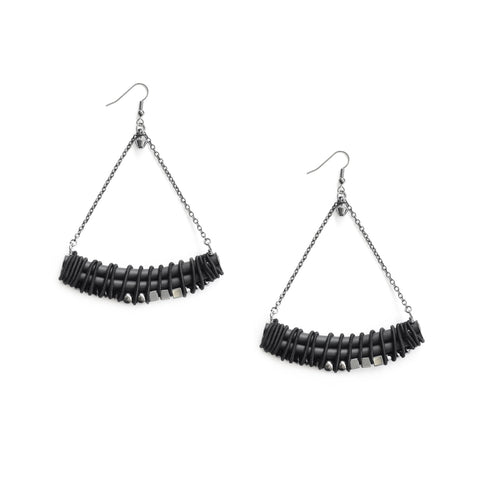 BLACK ARC earrings