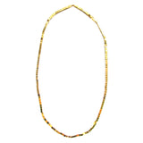 MAGNE single strand necklace - gold