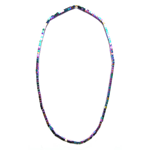MAGNE single strand necklace - purple