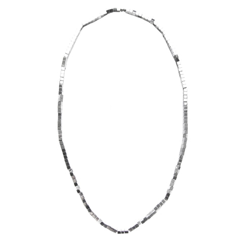 MAGNE single strand necklace - silver