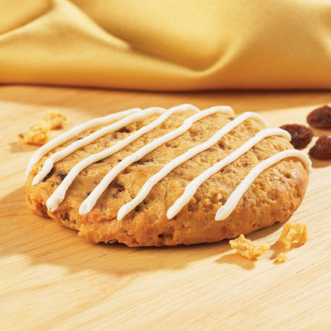 Oatmeal Raisin Cookie with Drizzle