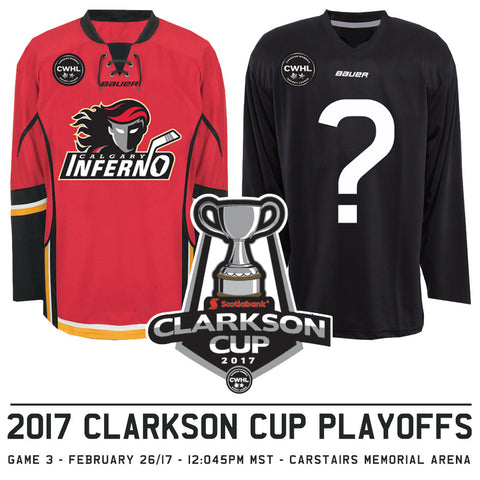 February 26 2017 - 12:45PM - Calgary Inferno Hosted Playoffs Game 3