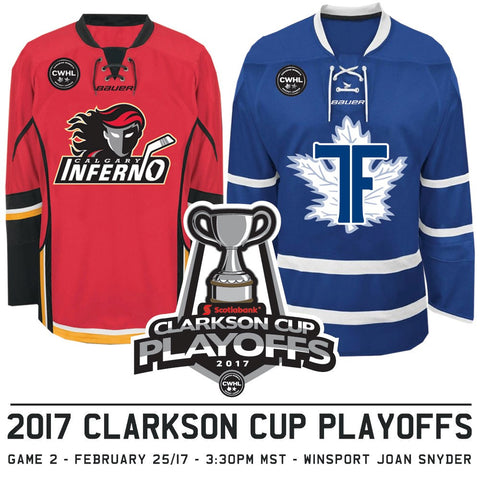 February 25 2017 - 3:30PM - Calgary Inferno Hosted Playoffs Game 2