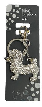 Bling Dog Keyring