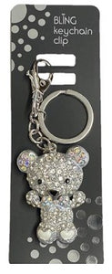 Bling Teddy Keyring