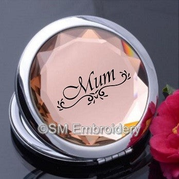 Crystal Compact Mirror