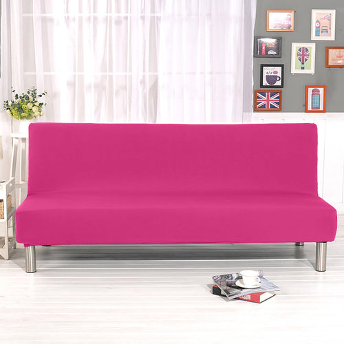 Plain Sofa Bed Cover
