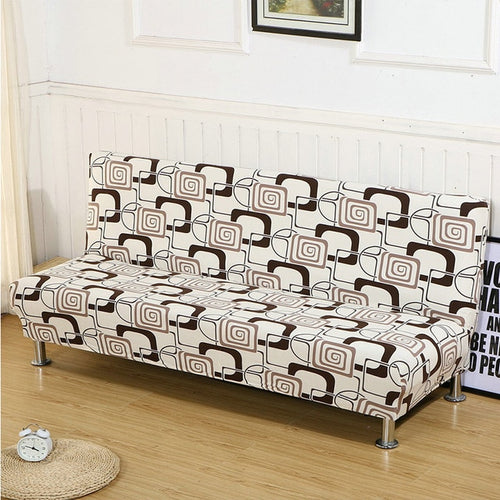 Printed Sofa Bed Cover