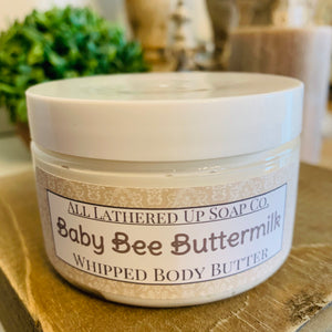 Baby Bee Buttermilk Whipped Body Butter 4oz