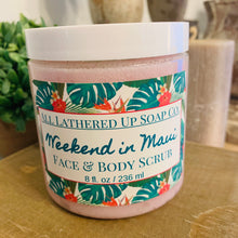 Load image into Gallery viewer, Weekend in Maui Face & Body Sugar Scrub