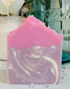 Blackberry Bling Goats Milk Soap