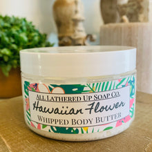 Load image into Gallery viewer, Hawaiian Flower Whipped Body Butter 4oz