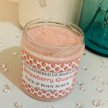 Load image into Gallery viewer, Strawberry Quartz Face & Body Sugar Scrub