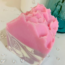 Load image into Gallery viewer, Blackberry Bling Goats Milk Soap