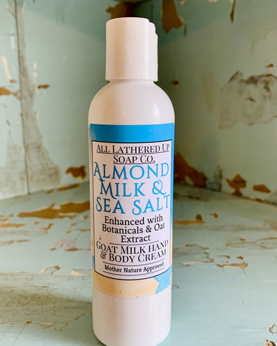 Almond Milk & Sea Salt Goats Milk Hand & Body Cream