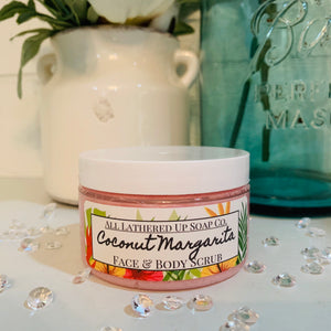 Coconut Margarita Face & Body Sugar Scrub
