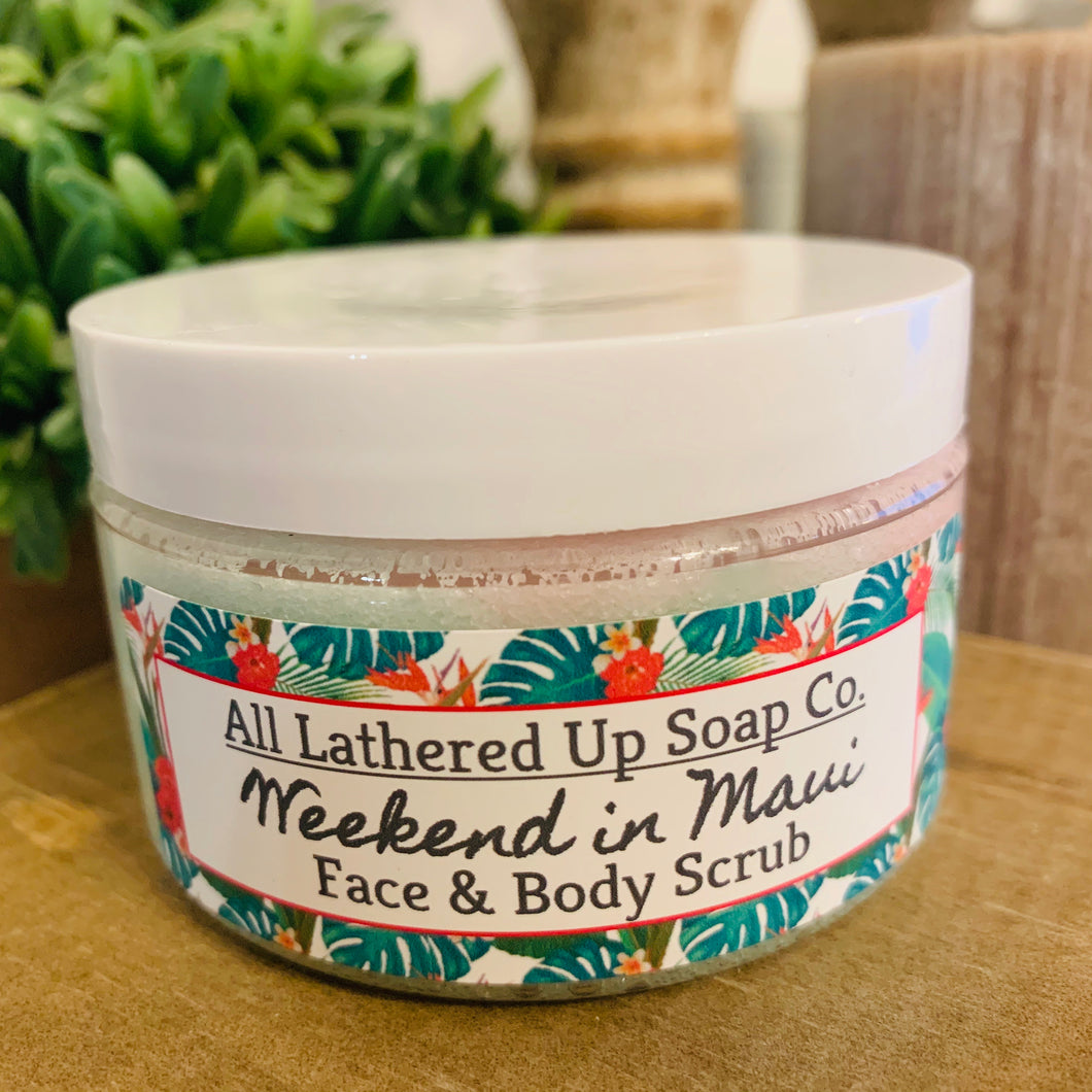 Weekend in Maui Face & Body Sugar Scrub