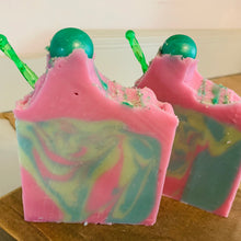 Load image into Gallery viewer, Wildberry Green Tea Goats Milk Soap (All Dolled Up)