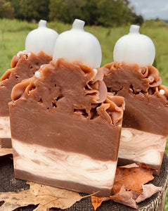 Pumpkin Cheesecake Goats Milk Soap