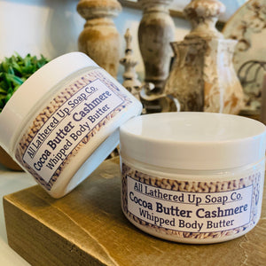 Cocoa Butter Cashmere Whipped Body Butter