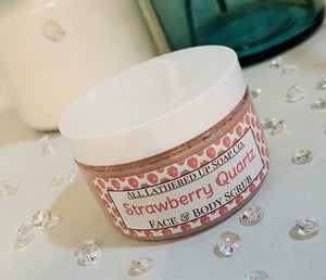 Strawberry Quartz Face & Body Sugar Scrub