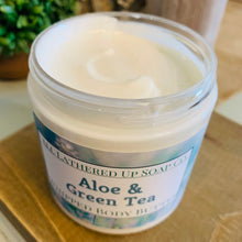 Load image into Gallery viewer, Aloe & Green Tea Whipped Body Butter