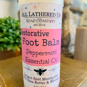 Peppermint EO Foot Balm