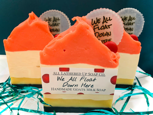 We All Float Down Here - Goats milk Soap
