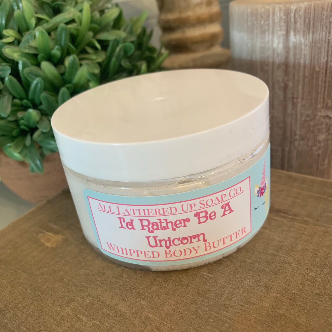 I'd Rather Be A Unicorn Shimmer Body Butter (On Sale)
