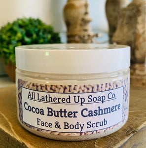 Cocoa Butter Cashmere Face & Body Scrub