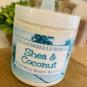 Shea & Coconut Whipped Body Butter