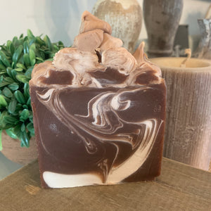 Cocoa Butter Cashmere Goats Milk Soap