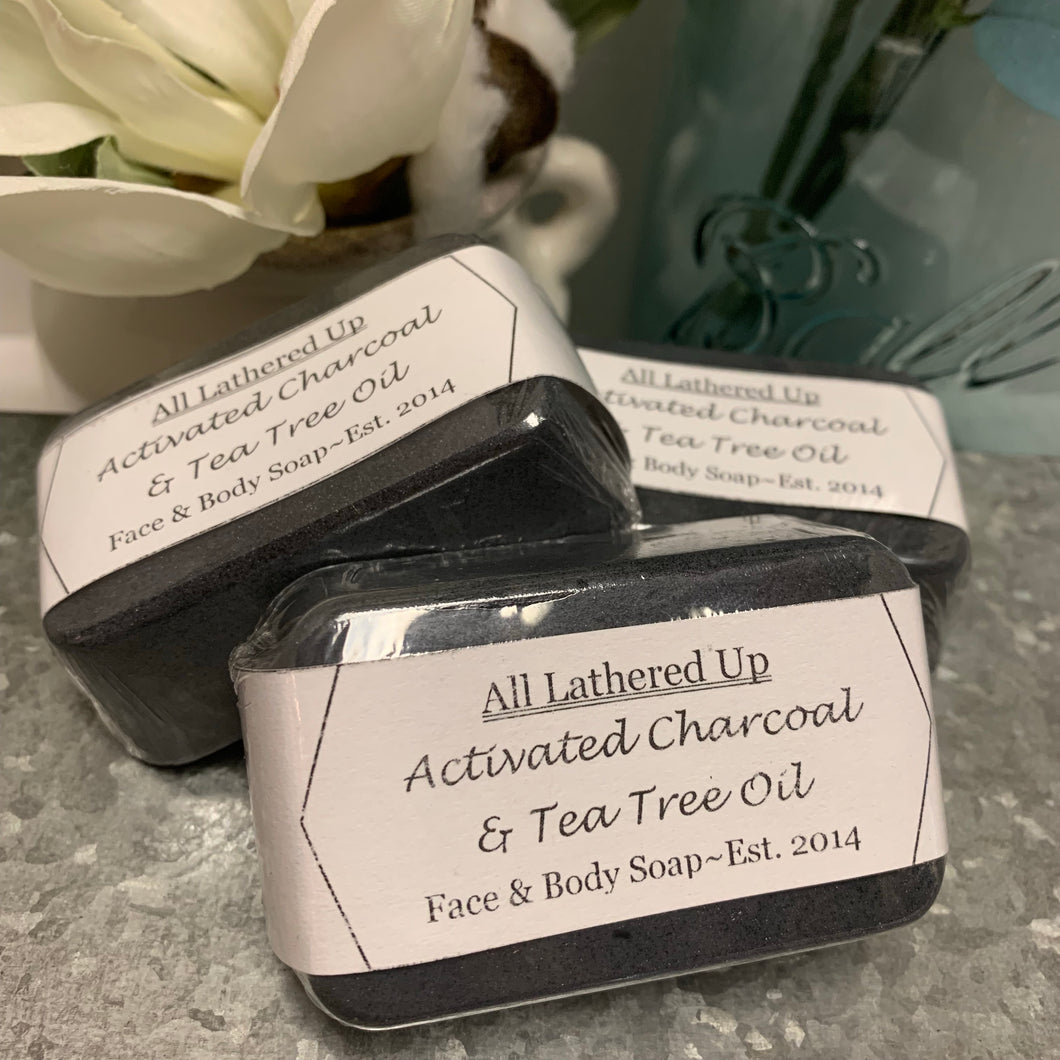 Charcoal & Tea Tree Facial Bars