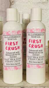 First Crush Goats Milk Hand & Body Cream
