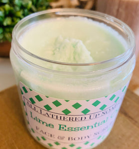 Lime Essential Oil Face & Body Scrub